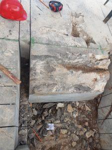 """Sito del Villaggio del Pescatore, giugno 2018, scavi per il recupero del cranio di """"Bruno"""""""
